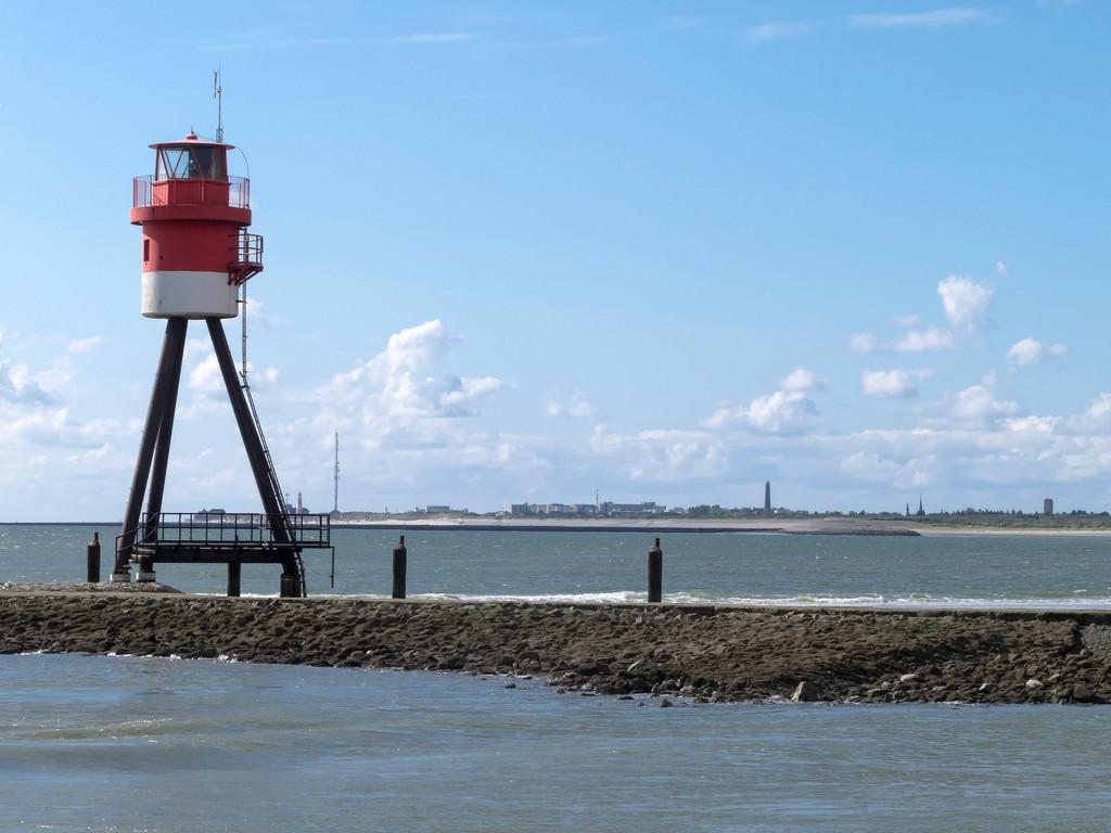 Hafeneinfahrt Borkum