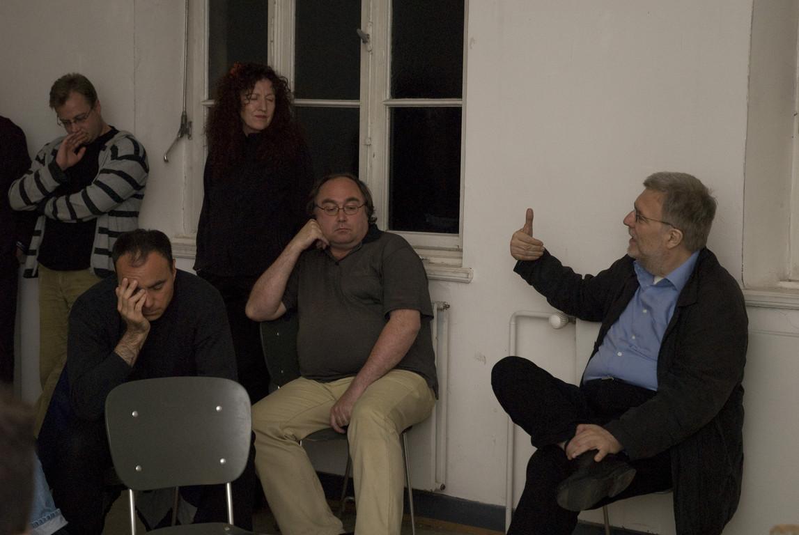 Diskussion zum Thomas Hecken-Vortrag