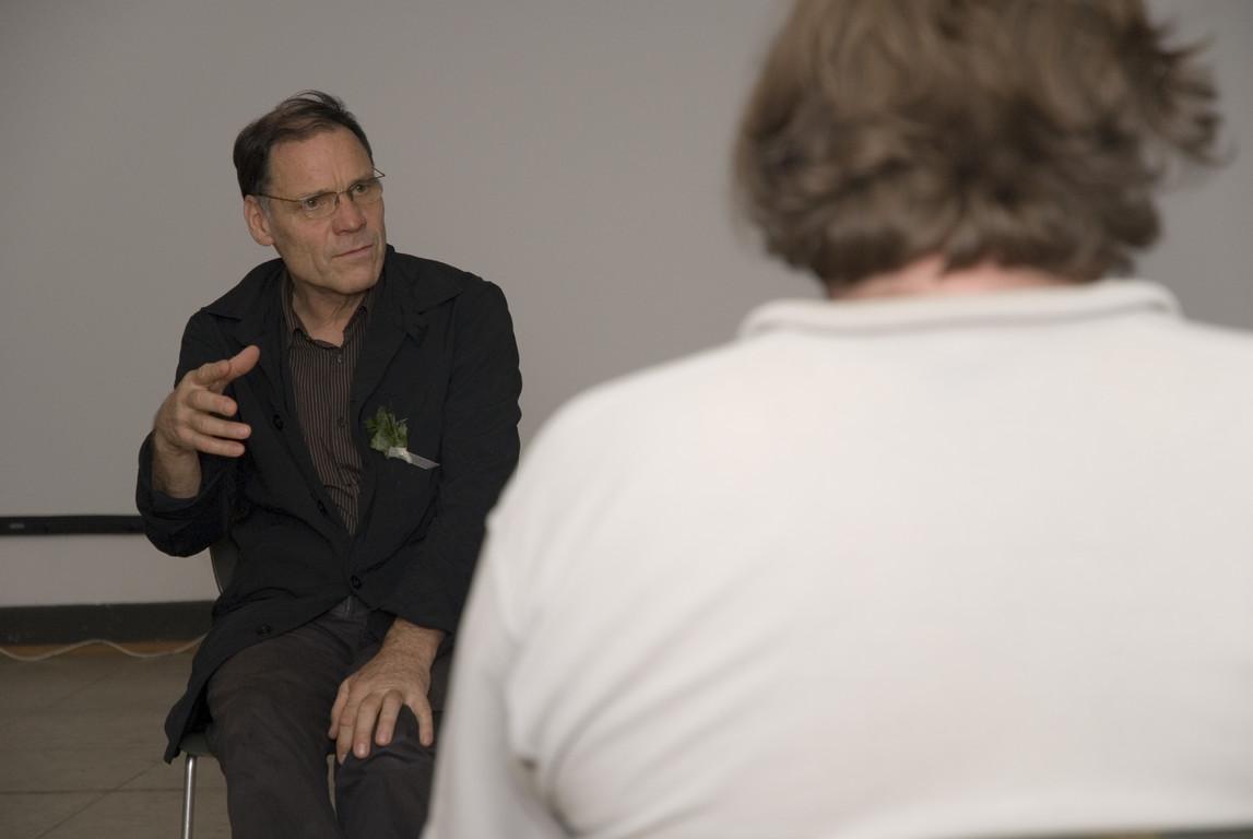 Diskussion mit Rainer Komers  2007