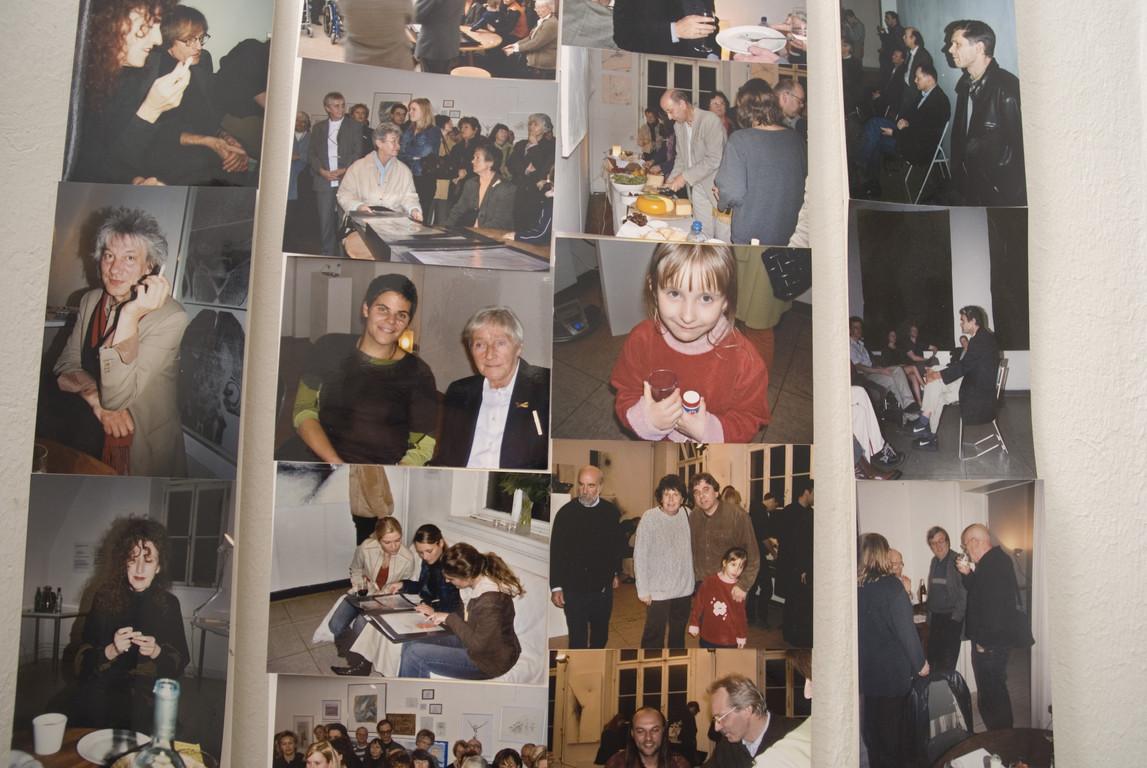 Bilderwand im Treppenhaus, 2007