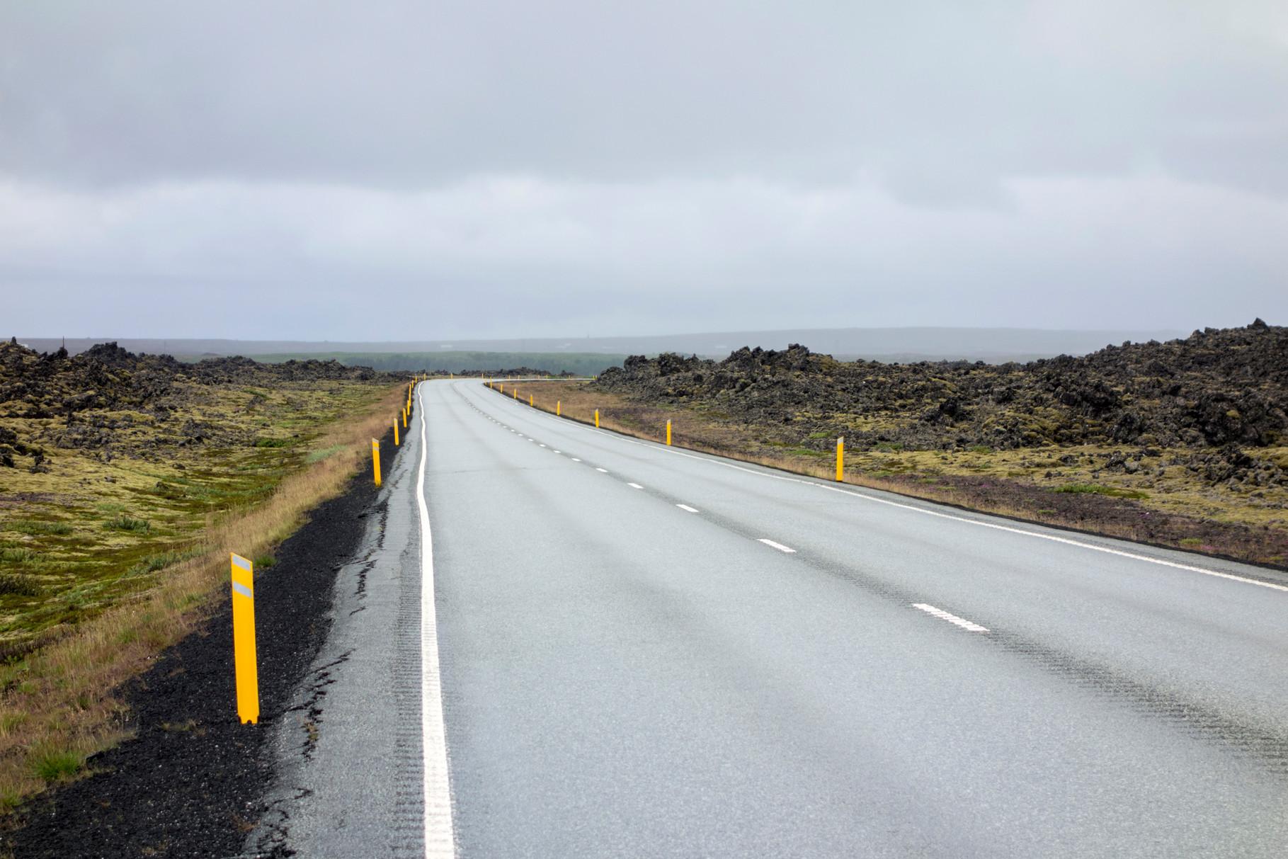 Landschaft auf der Halbinsel Reykjanes