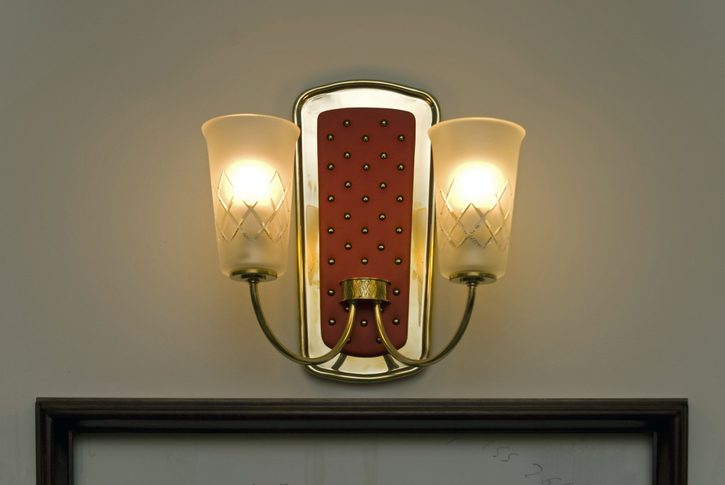 Originallampe aus den 50er Jahren