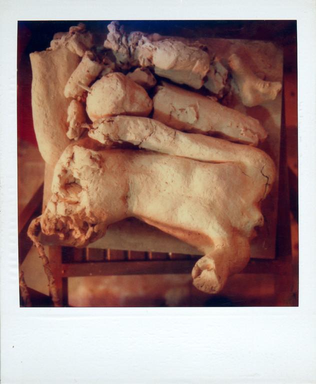 zerstörte Figur, 1988