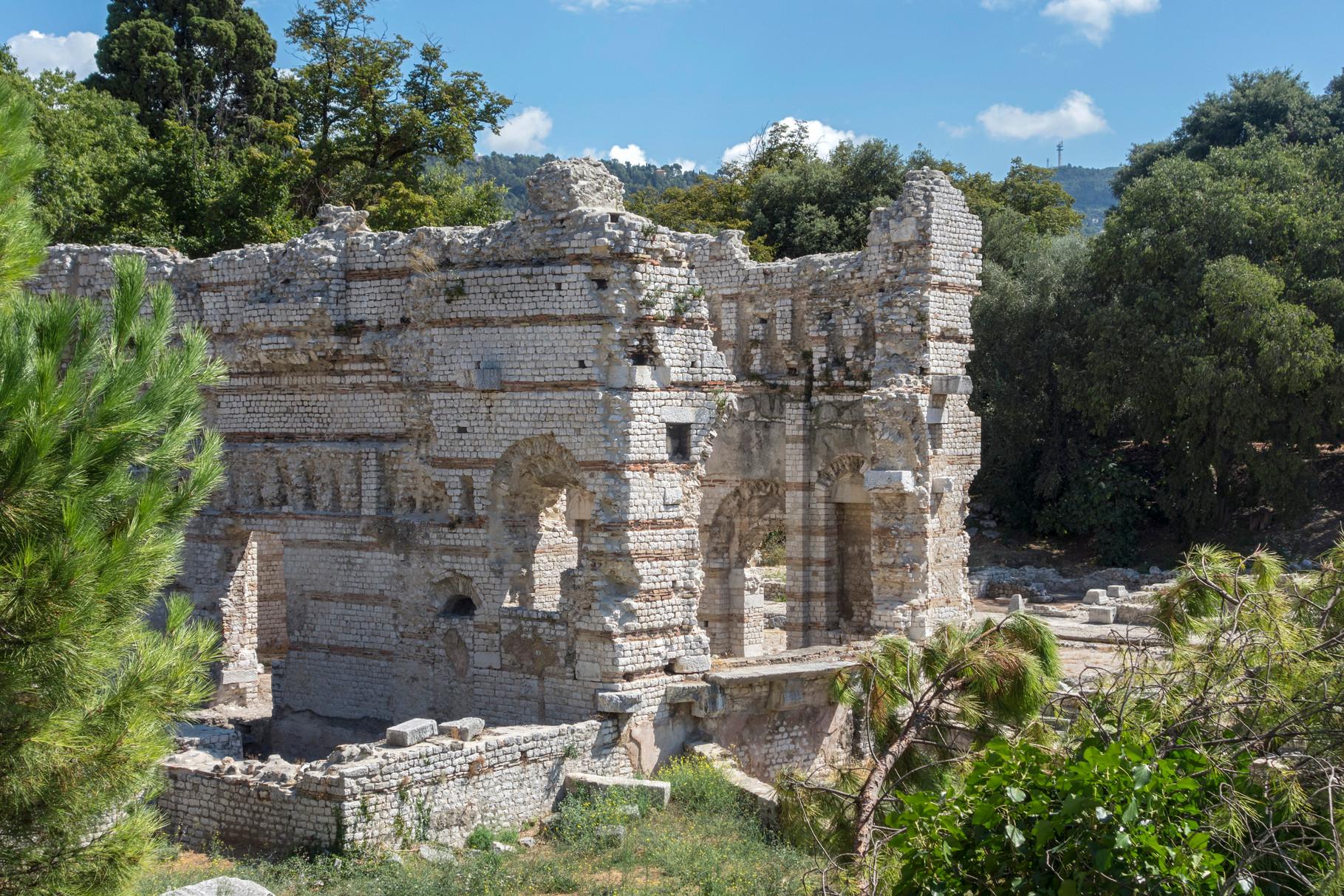 Römische Ruinen am Parc de Cimiez
