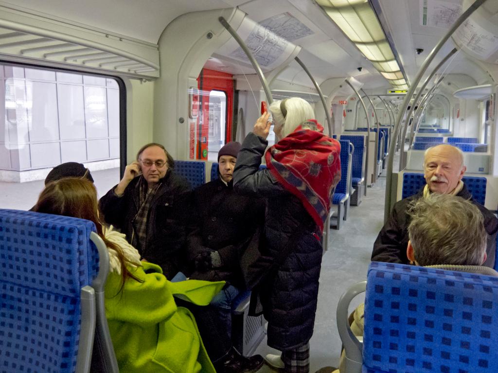 S-Bahn-Fahrt