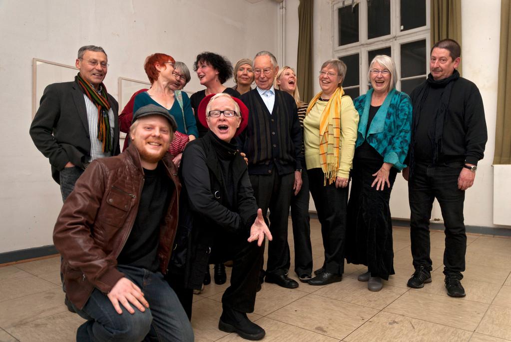 Die Kux-Künstler, Vernissage 13.11.2010