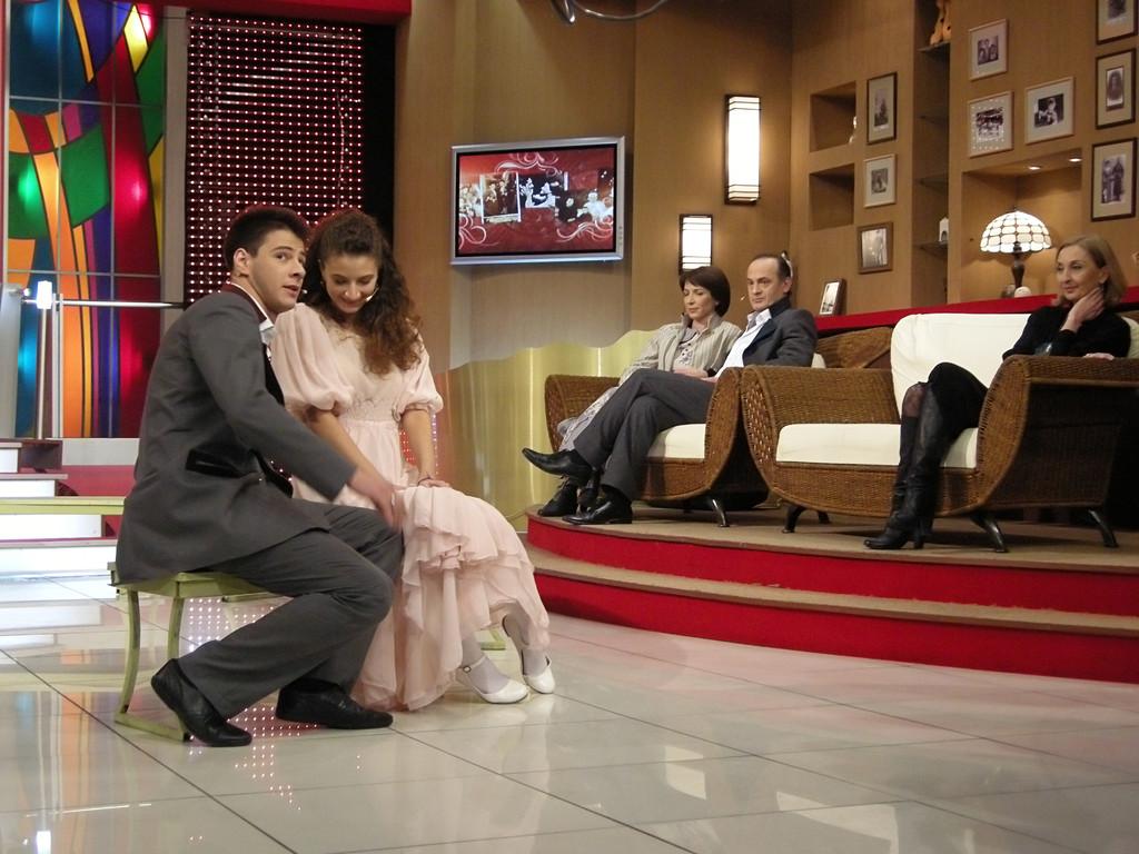 Fernsehstudio in Tiflis