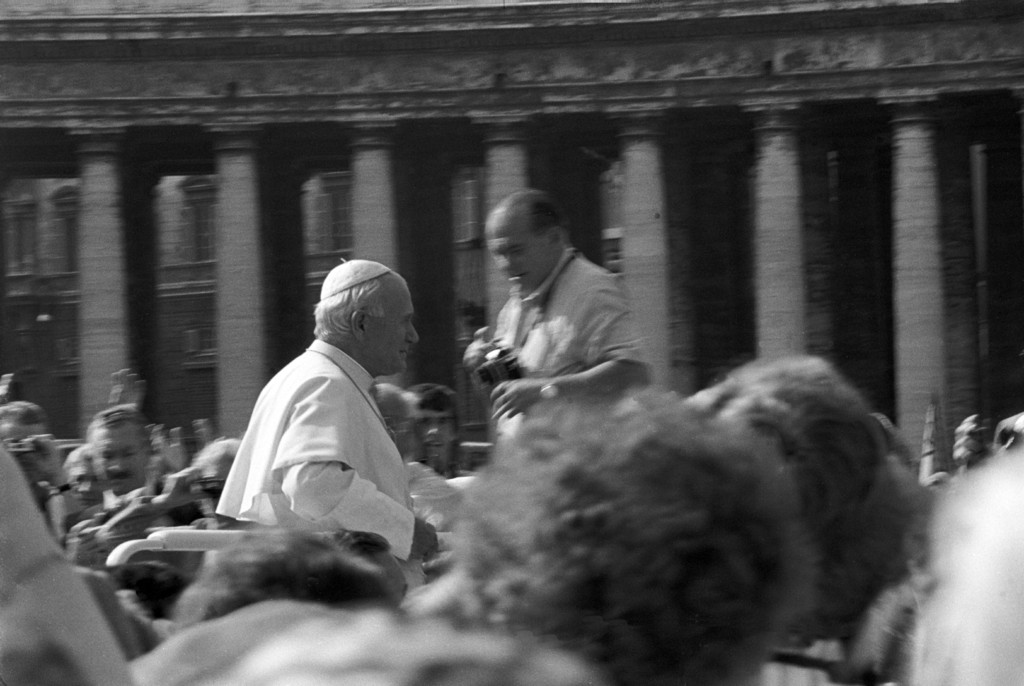 Papst Johannes Paul II, Petersplatz