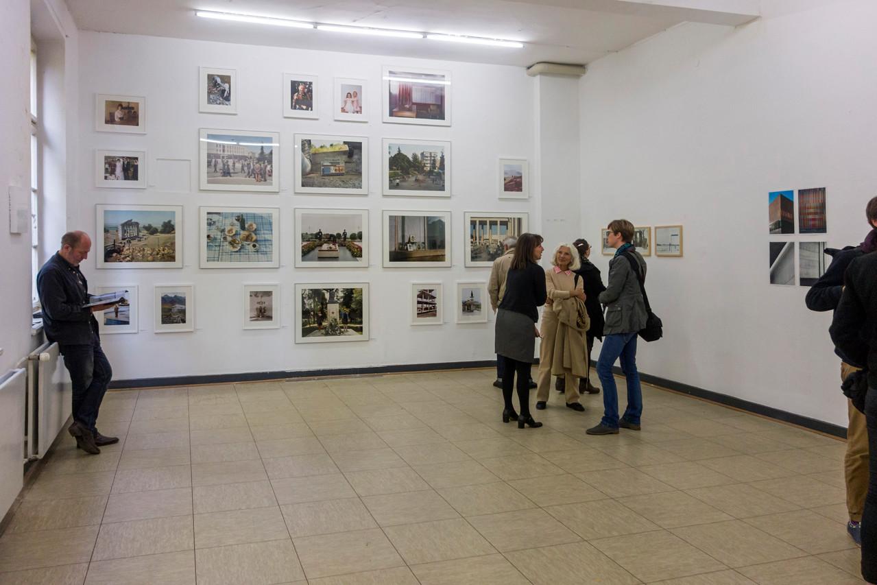 Der Fotokünstler Norbert Enker (links)
