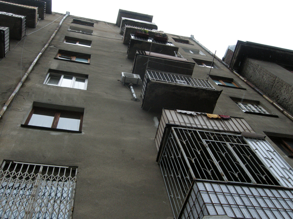 unser Haus in Tiflis
