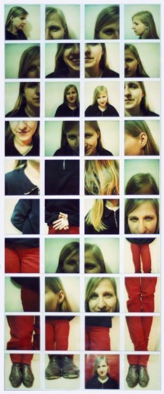 Polaroidtableau Sonja, 1986