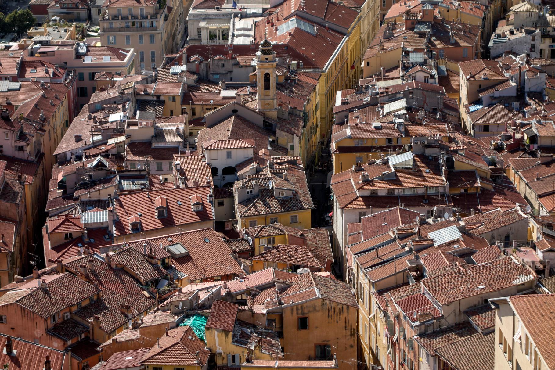 Dächer von Nizza - Altstadt