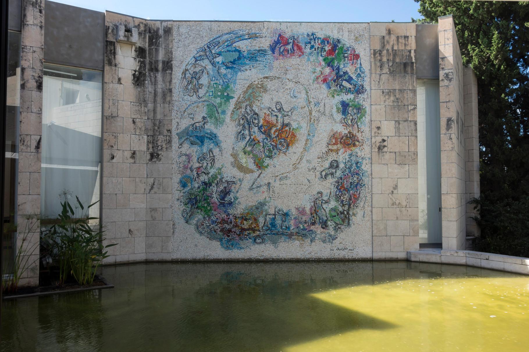 Der Prophet Elias, 1971, Mosaik, 715 x 570 cm