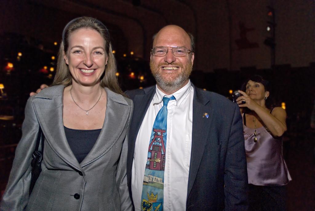 Schirmherr Bürgermeister Rolf Fliß und Gabriele von Habsburg-Lothringen, Botschafterin von Georgien