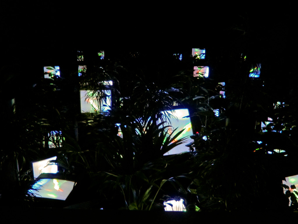 TV-Garden, Nam June Paik (1974-1977/2002)