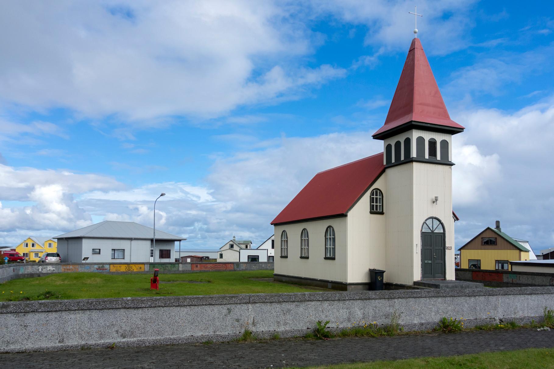 die Kirche von Grindavik