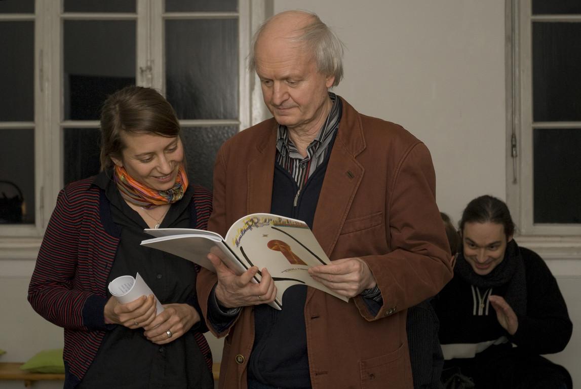 Maria Muhle und Jürgen Link, 2007