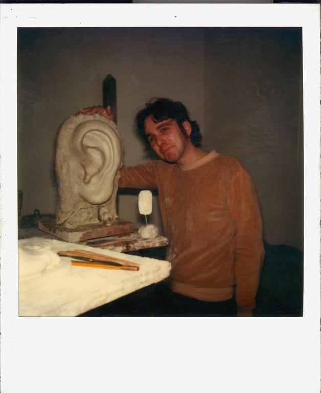 Bildhauerklasse Prof. Max Kratz, Uni Essen ca.1982