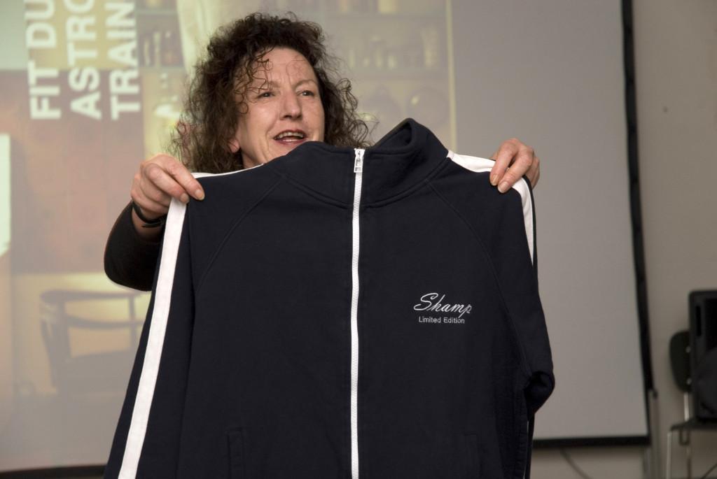 Übergabe der Shamp-Jacke an Matthias Schamp, 2009