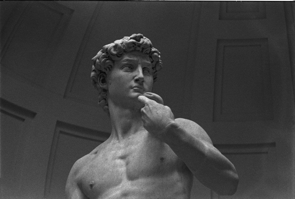 Florenz, David von Michelangelo