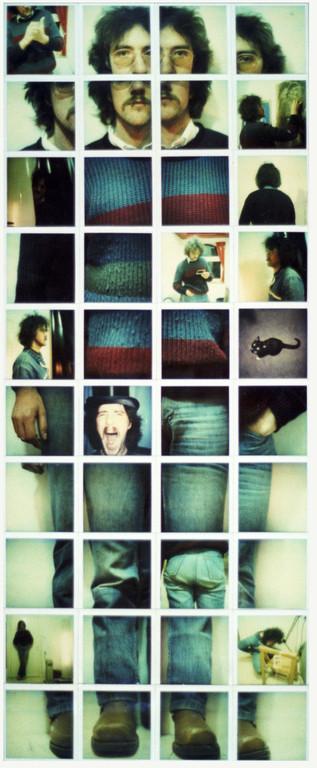 Polaroidtableau Hans, 1986
