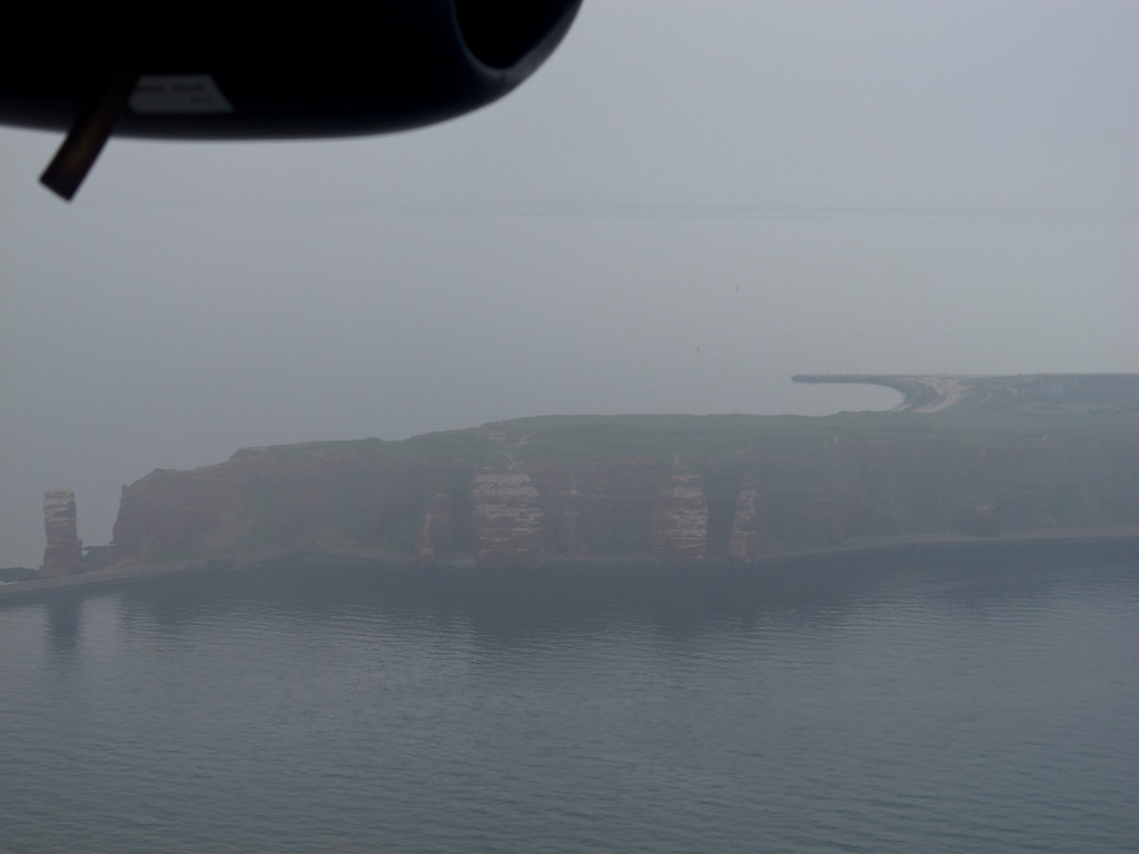Helgoland vom Flugzeug