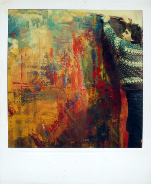 """Beim """"Malen"""", 1986"""