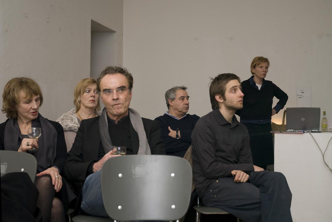 """Vortrag """"Die radikale konkrete Begründung der ästhetischen Form im Werk von Charlotte Posenenske"""", 2009"""