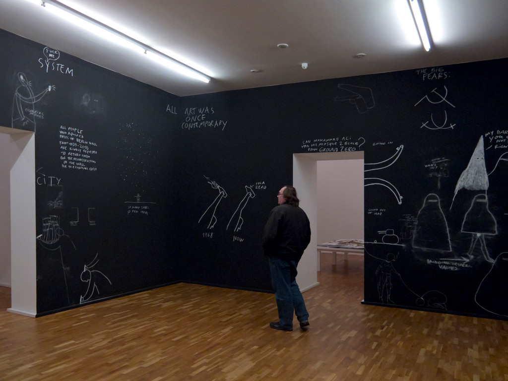 Dan Perjovschi, Chalk Reality 2, 2010