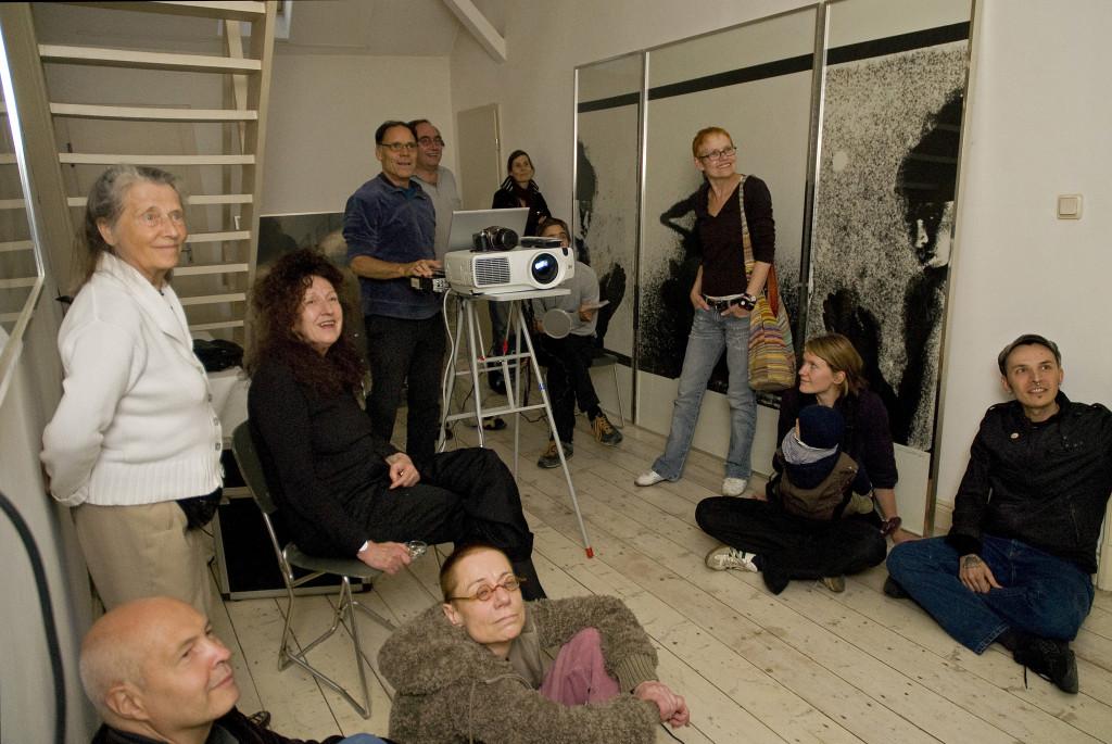 Rainer Komers präsentiert Typogramme, 2009