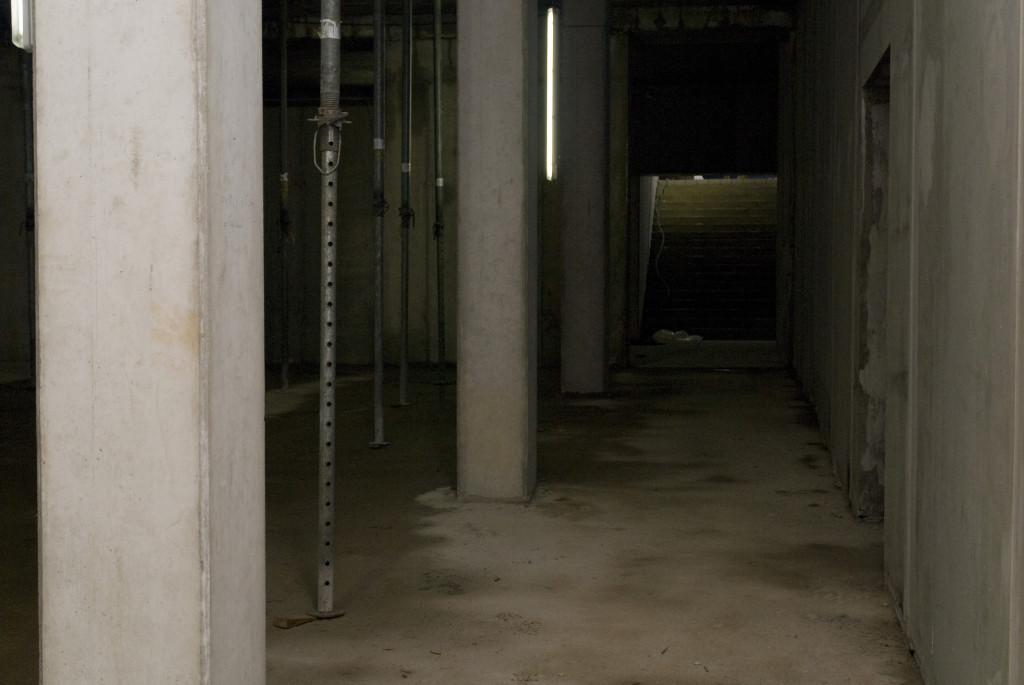 Blick vom Kinosaal zum Treppenaufgang, Dezember 2008