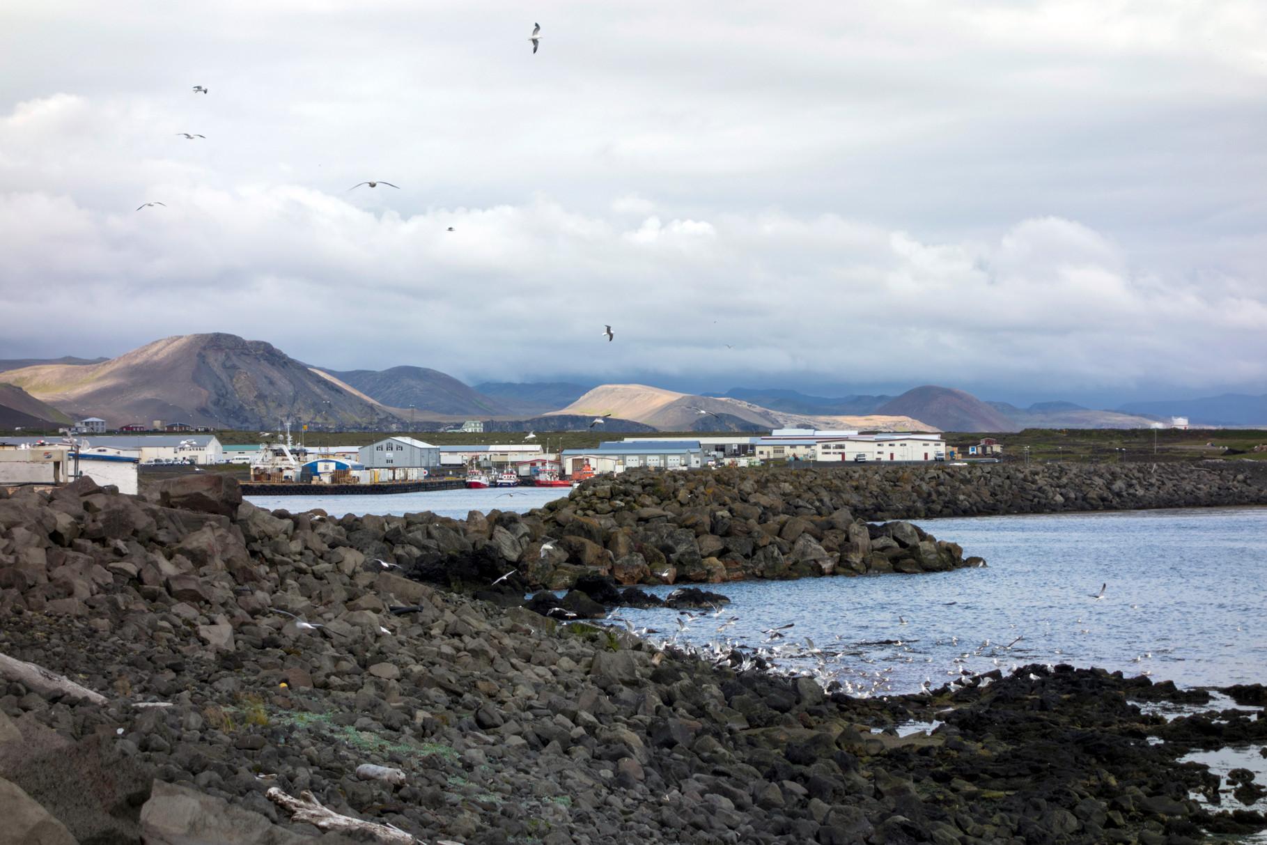 Hafen von Grindavik