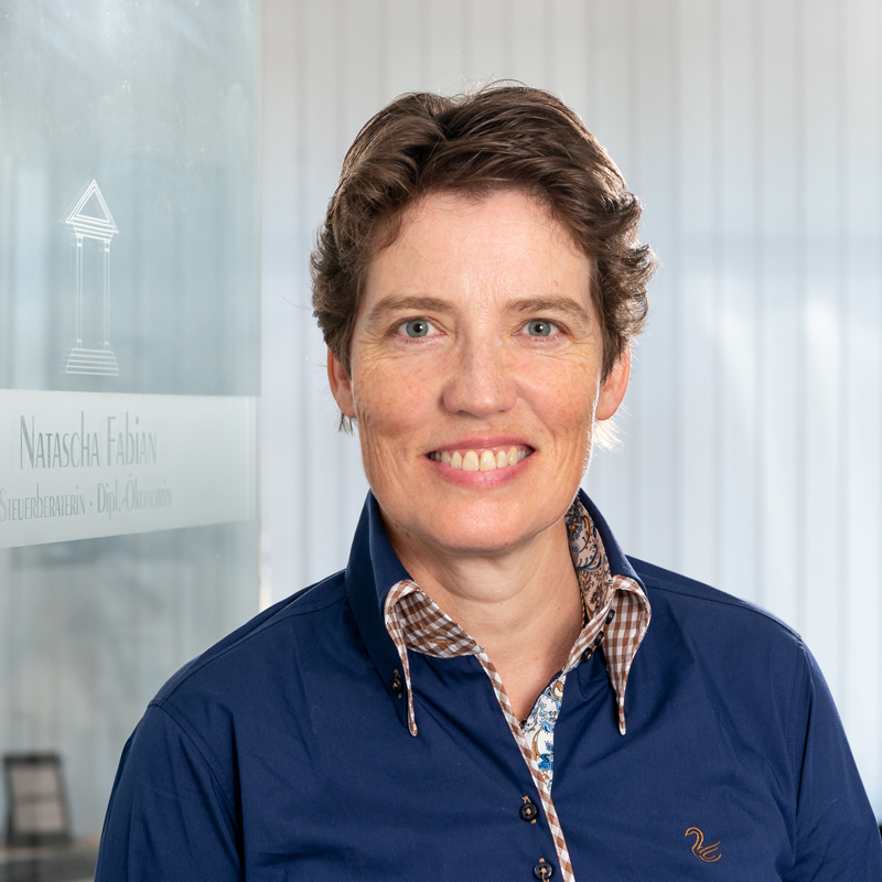 Natascha Fabian - Steuerberaterin und Diplom-Ökonomin