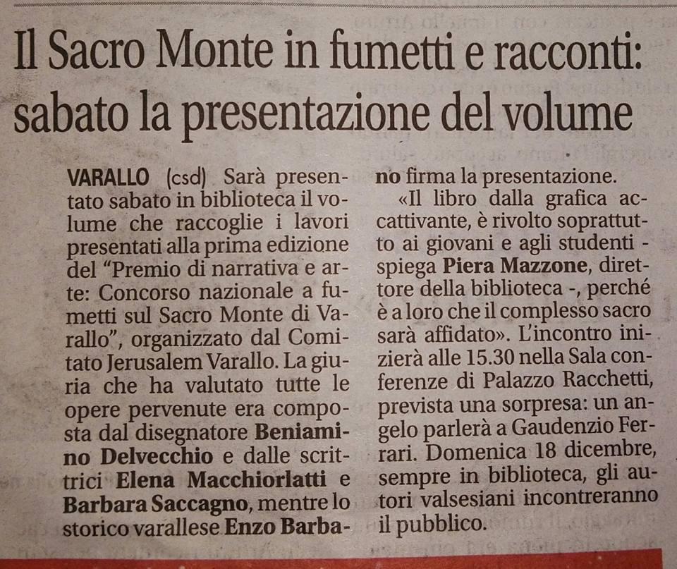 Notizia Oggi, 15 Dicembre 2016