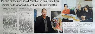 Notizia Oggi, 19 Settembre 2016. Blu Cobalto, di Luca Stecchi