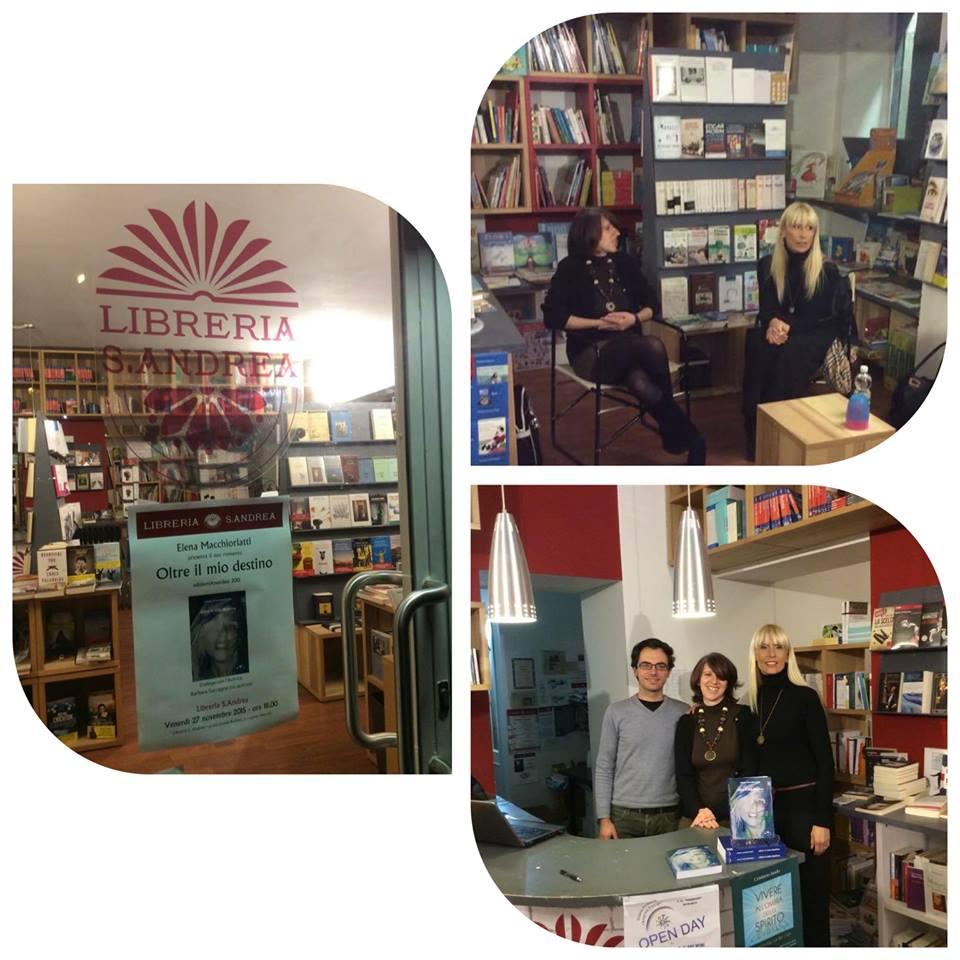 Libreria S. Andrea - Vercelli 27 Novembre 2017