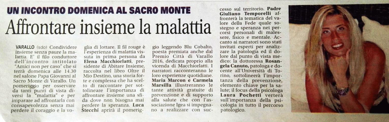 Notizia Oggi, 28 Settembre 2017