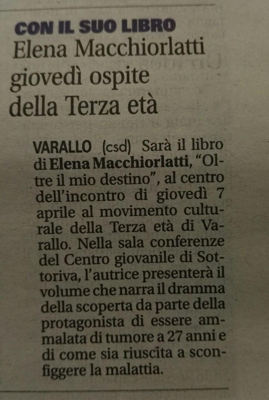 Notizia Oggi, 04 aprile 2016