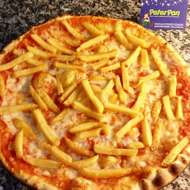 Pizza Patatine Fritte