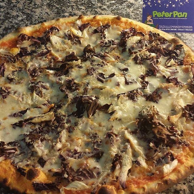 Pizza Fossa D.O.P. e Radicchio