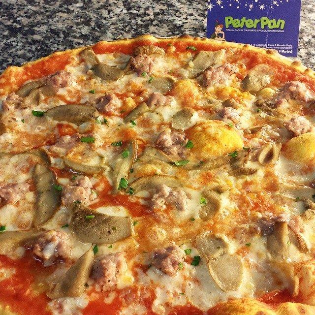 Pizza Salsiccia e Porcini 1° qualità extra