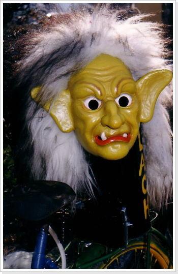 """""""böse"""" Maske"""