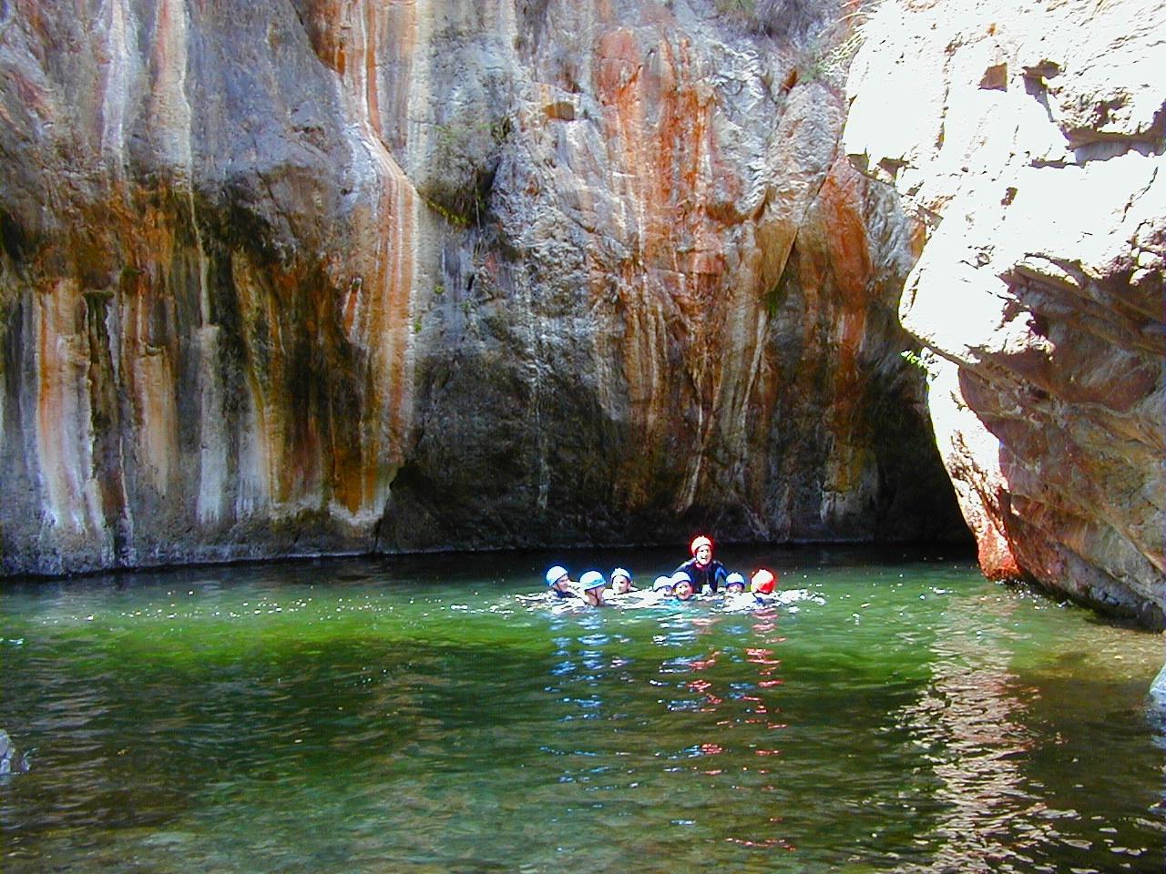 1 - canyon découverte