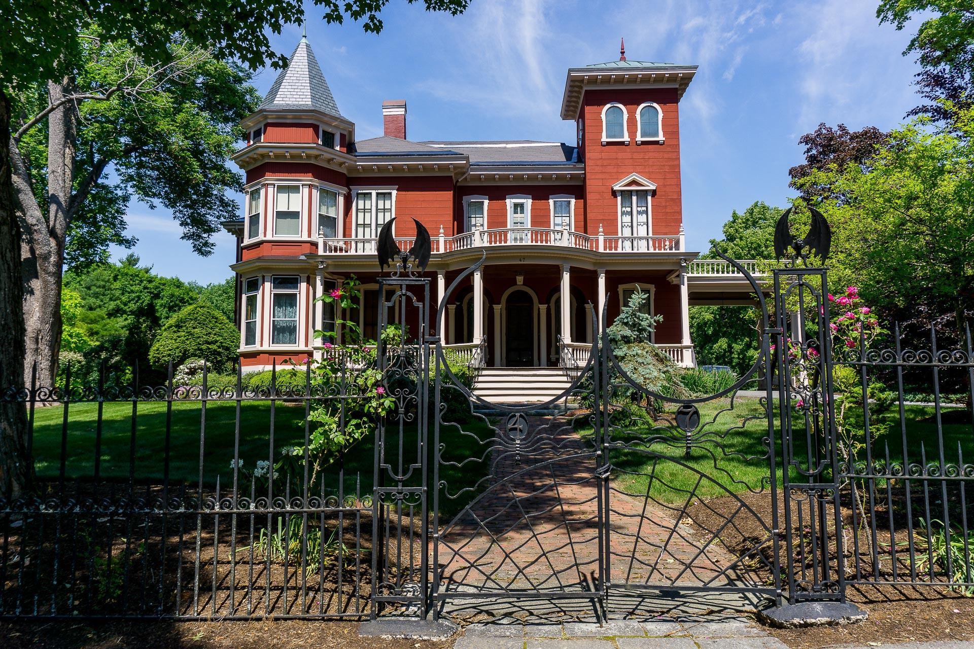 Dimanche 29 janvier: la maison de Stephen King à Bangor, ME