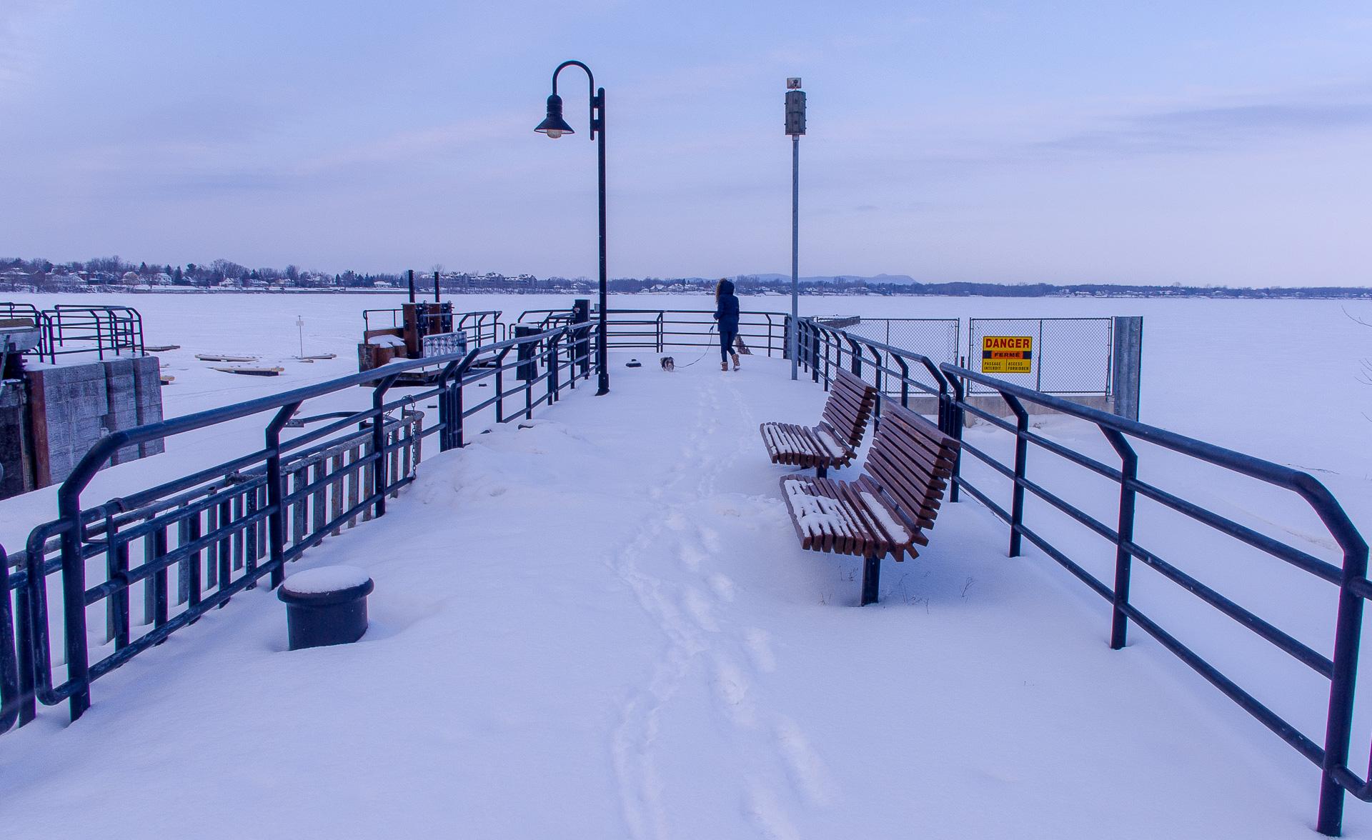 Dimanche 12 février: Balade hivernal à Chambly, QC