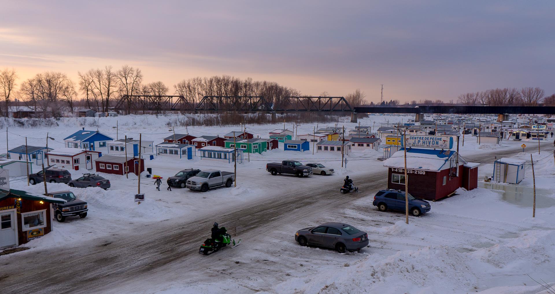 Dimanche 19 février: Pêche sur glace à Ste Anne de la Pérade, QC