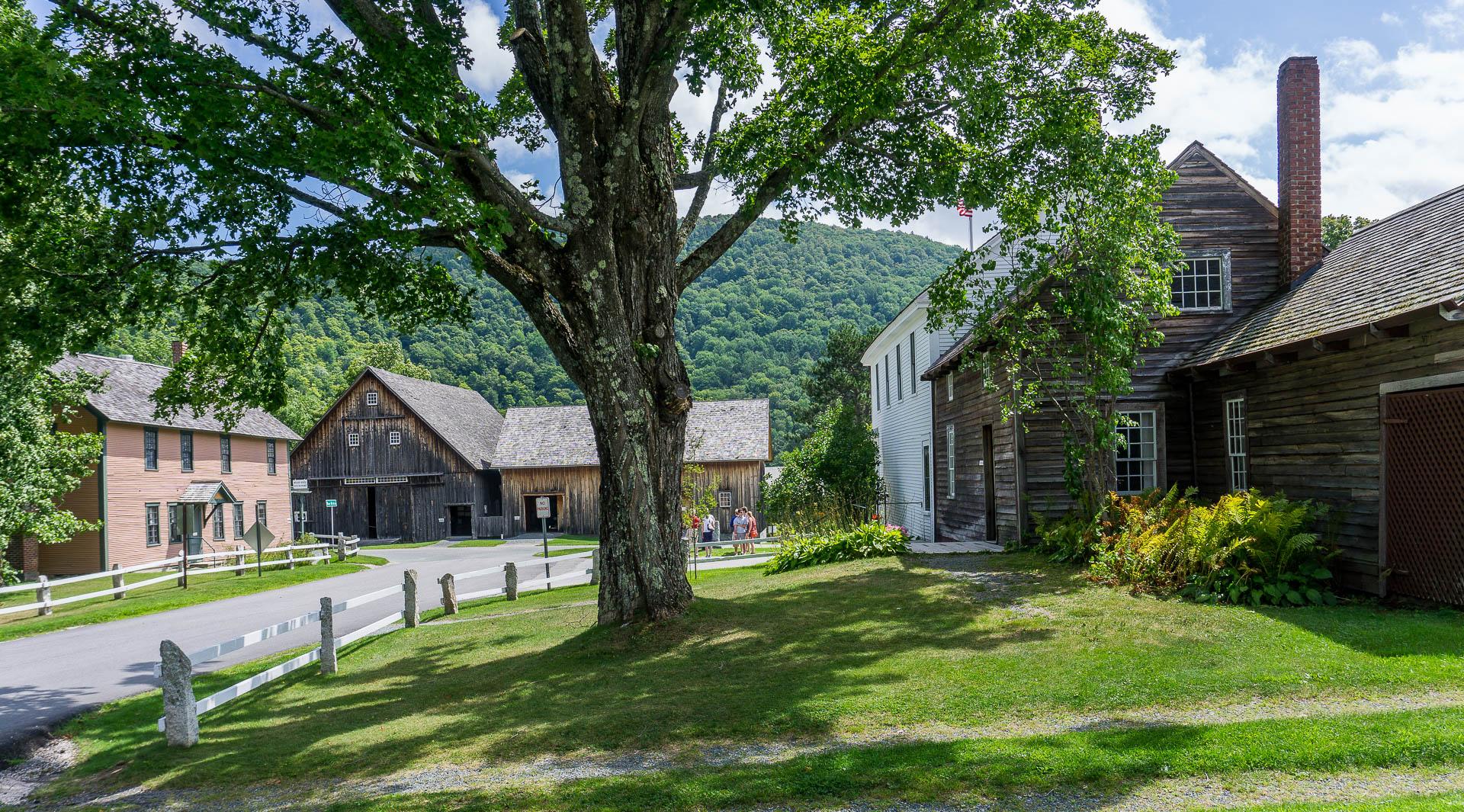 Dimanche 8 janvier: Plymouth, charmant village du Vermont