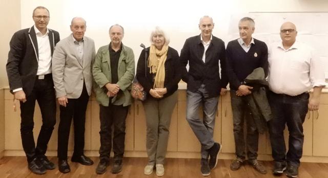 """Arbeitsgruppe """"Alter Schüttkasten/Kunsthaus Retz"""" tagte unter Gerhard Forman"""