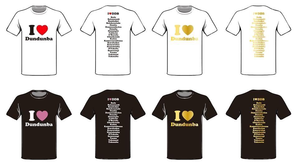 ドゥンドゥンバTシャツ(リズムTシャツ)