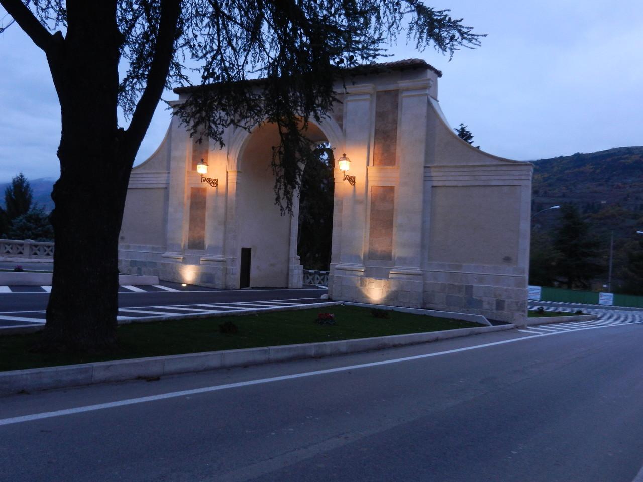 L'aquila - Porta Napoli, Novembre 2012, dopo il restauro.